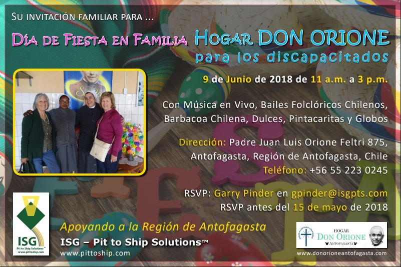 Don Orione Invitation