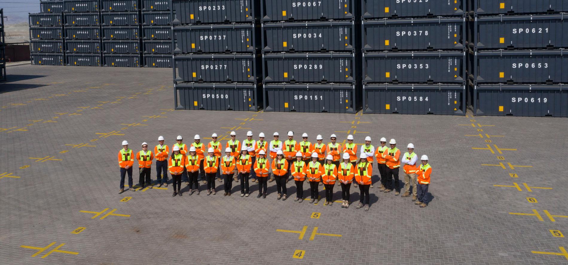 ISG Company group photo